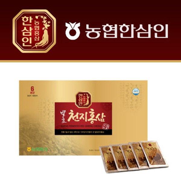 한삼인 발효천지홍삼 45㎖ × 30포
