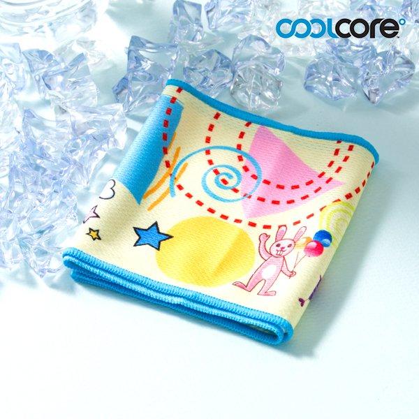 쿨코어(COOLCORE) 쿨코어 냉각 캐릭터타월 (소형)1p