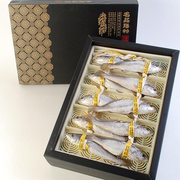 [名品]법성포 민어굴비선물세트 10미(26~27cm)이식사